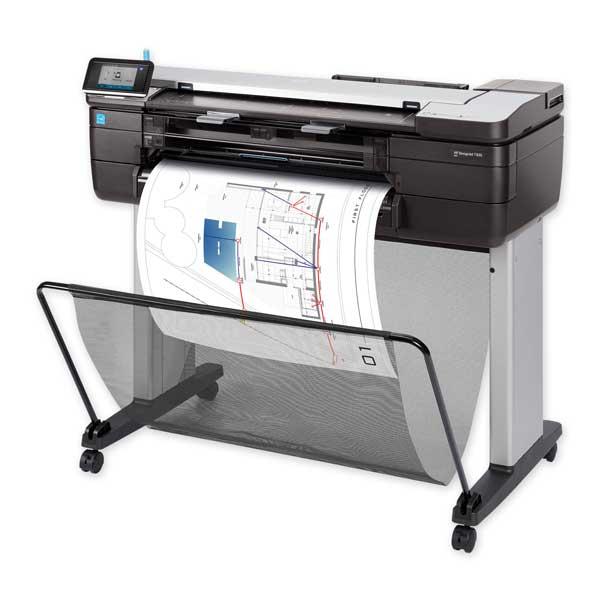 HP Plotter T830 Product Image for Protea Botswana