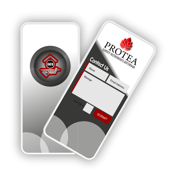 Protea Survey Instruments Cell Phone Icon