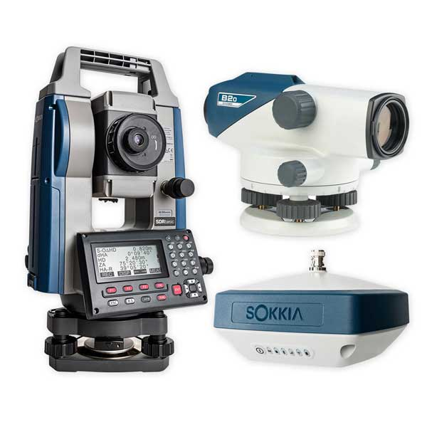Sokkia Total Stations - Auto Levels Product Image etc
