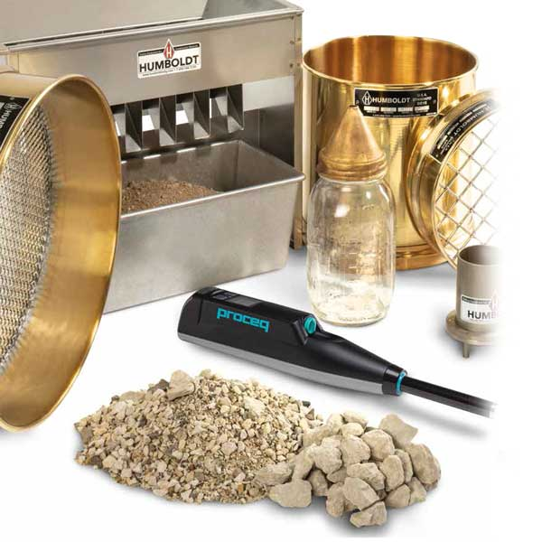 Aggregate Testing Equipment Product Image for Protea Botswana